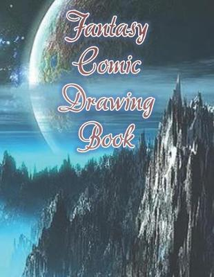 Fantasy Comic Drawing Book by Jh Comic Books