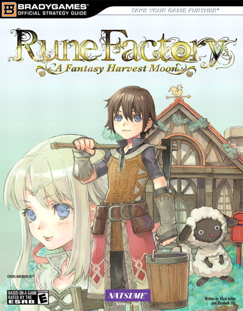Rune Factory: A Fantasy Harvest Moon Official Strategy Guide for Nintendo DS
