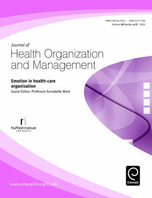 Emotion in Health-care Organization