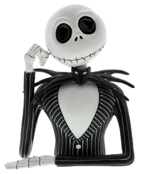 Nightmare Before Christmas Jack Skellington Bust Bank