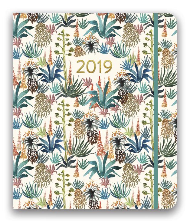 Hidden Agenda: Agave 2019 Compact Diary