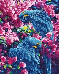 Diamond Dotz: Facet Art Kit - Blue Parrots