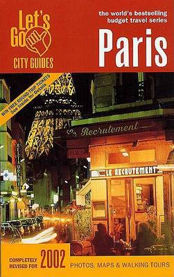 Let's Go Paris 2002 by Let's Go Inc image