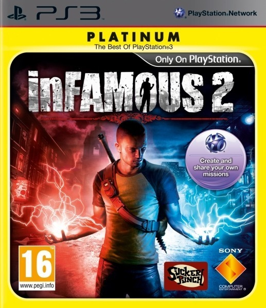 inFAMOUS 2 (Platinum) for PS3