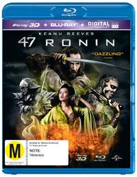 47 Ronin (3D Blu-ray/Blu-ray) DVD