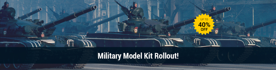 Military Model kit Rollout