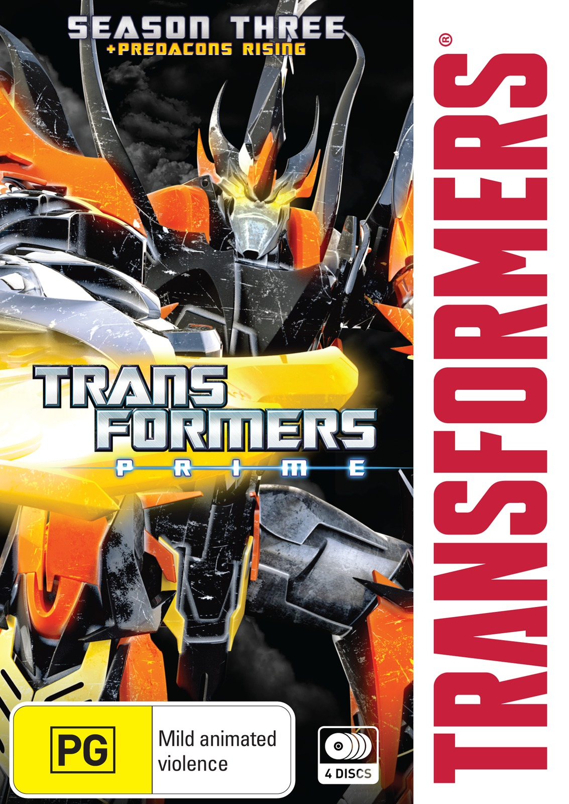 Transformers: Prime - Season 3 on DVD image