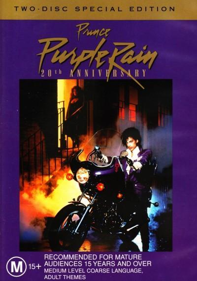 Purple Rain - 20th Anniversary Special Edition (2 Disc Set) on DVD image