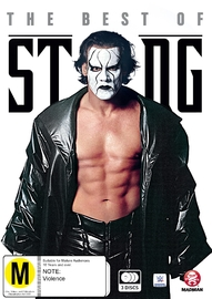 WWE: The Best of Sting on DVD