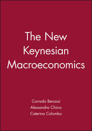 The New Keynesian Macroeconomics by Corrado Benassi image