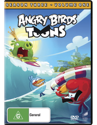 Angry Birds Toons: Season 3 - Volume 1 on DVD