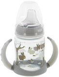 NUK: First Choice - Training Bottle 6-18 Months (150ml) - White/Rabbits