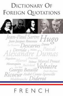 Dictionary of French Quotations