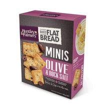 Huntley & Palmers Flat Bread Minis - Olive & Rock Salt (140g)