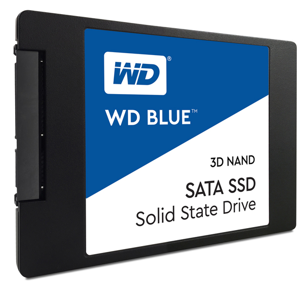 "500GB WD Blue 3D Nand - 2.5"" SATA Internal SSD"