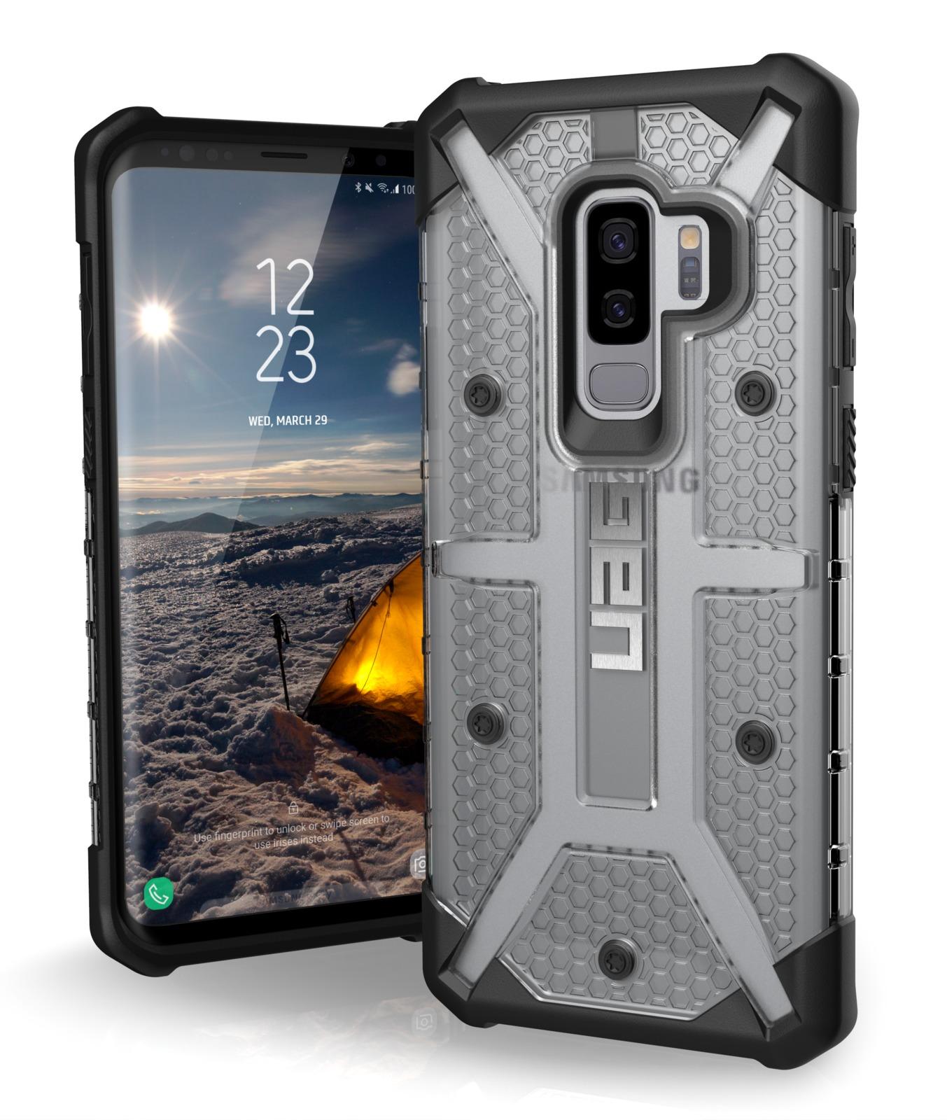 UAG: Plasma Series Case for Galaxy S9+ - (Ice/Black) image