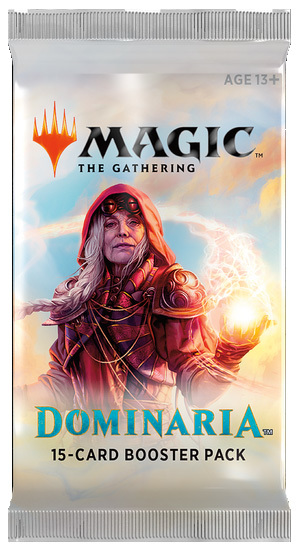Magic The Gathering : Dominaria Single Booster (15 Cards)
