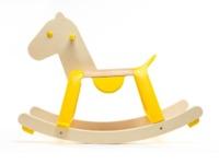 Djeco: Yellow Rock'it! - Sit & Ride Rocking Horse image