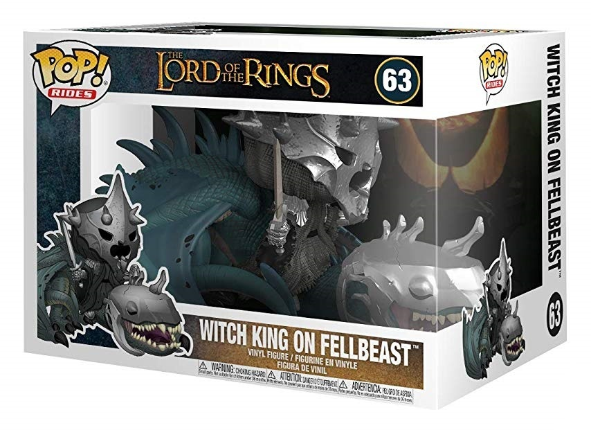 Lord of the Rings: Witch King on Fellbeast - Pop! Ride Vinyl Figure image