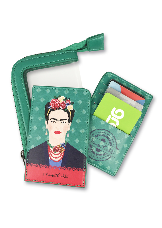 Frida Kahlo - Green Vogue Card Purse