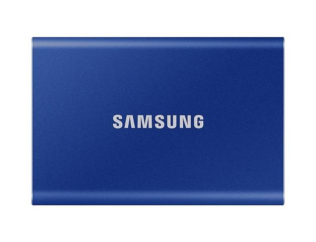 2TB Samsung Portable SSD T7 Blue