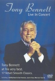 Tony Bennett: Live in Concert on DVD