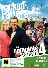 Packed to the Rafters - The Complete Season 4 on DVD image