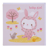 Tiger Tribe: House of Cards - Baby Girl Greeting Card