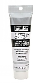 Liquitex: Heavy Body Acrylic - Iridescent Bright Silver (59ml)