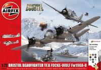 Airfix 1:72 Bristol Beaufighter vs. Focke-Wulf - Model Kit