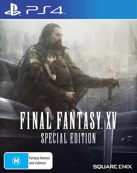 Final Fantasy XV Steelbook Special Edition for PS4