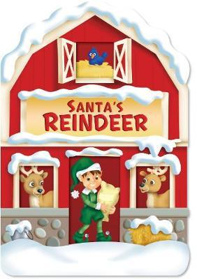 Christmas House Board Book Santa's Reindeer