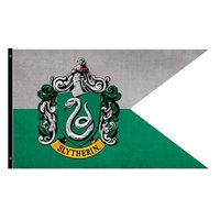 Harry Potter - Slytherin Outdoor Flag image
