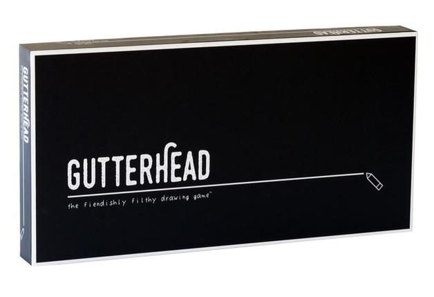 Gutterhead - The Fiendishly Filthy Drawing Game