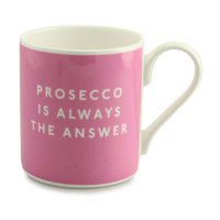 McLaggan Smith: Prosecco Always The Answer - Coffee Mug
