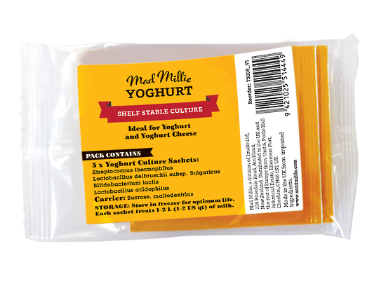 Mad Millie: Yoghurt Culture Sachets x 5 (Dairy Free)