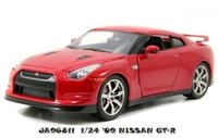 Jada: 1:24 Nissan GT-R (2009) - Diecast Model (Red)