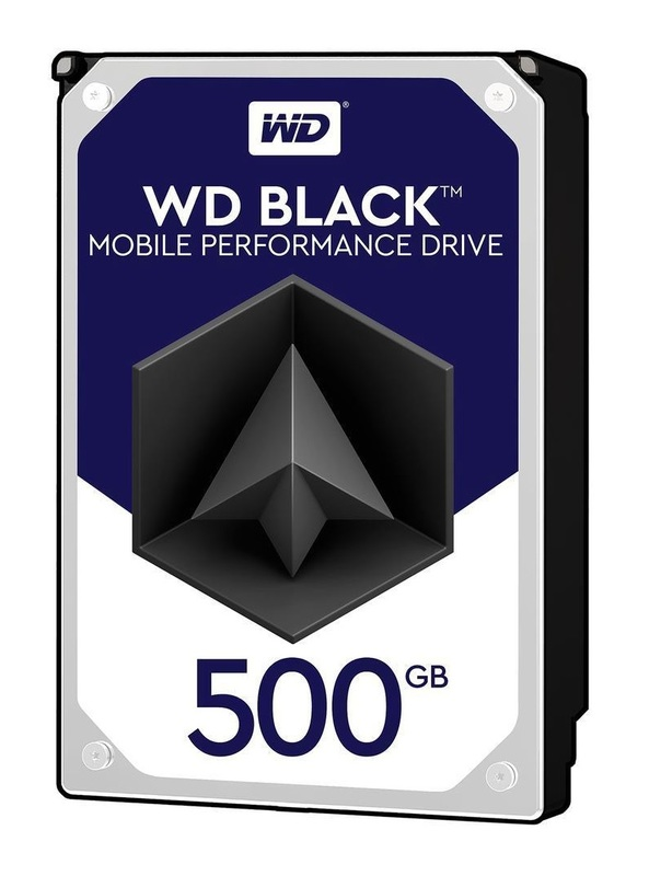 500GB WD Black - Mobile Performance HDD (7200RPM)