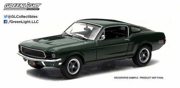 1/43: Ford Mustang - Steve McQueen Bullitt - Diecast Model