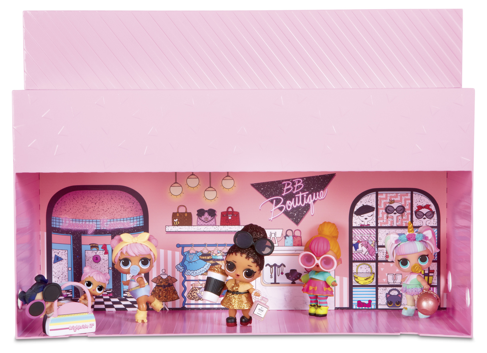 L O L Surprise Pop Up Store Playset Images At Mighty Ape Australia