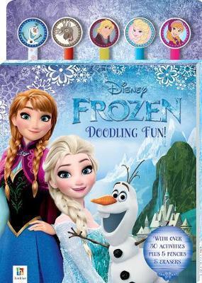 Disney Frozen: Pencil & Eraser - 5-Piece Set