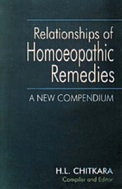 Relationship of Homoeopathic Remedies by H.L. Chitkara image