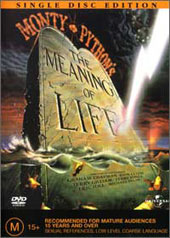 Monty Python - The Meaning Of Life (Single Disc) on DVD