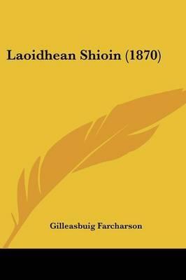 Laoidhean Shioin (1870) by Gilleasbuig Farcharson image