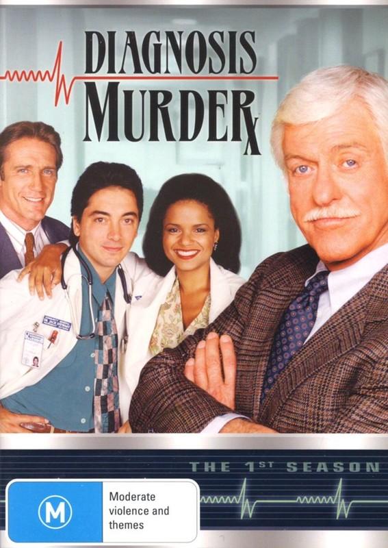 Diagnosis Murder - The 1st Season (5 Disc Set) on DVD