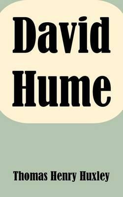 David Hume by Thomas Henry Huxley