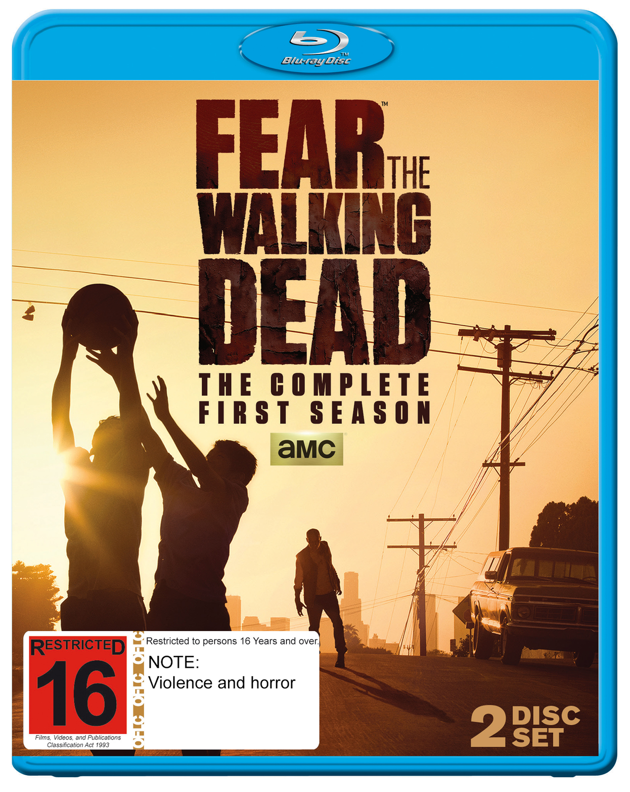 Fear The Walking Dead - The Complete First Season on Blu-ray image