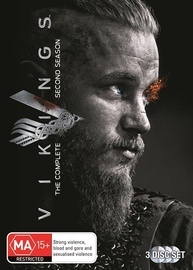Vikings - The Complete Second Season DVD