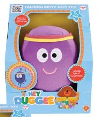 Hey Duggee Talking Squirrel Club Soft Toy - Betty