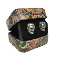 Marvel: 3-D Hulk Cufflinks
